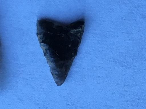 黒曜石の矢尻 細石器 石錐 (ゆくかえる) 杉並のおもちゃ《ビンテージ ...