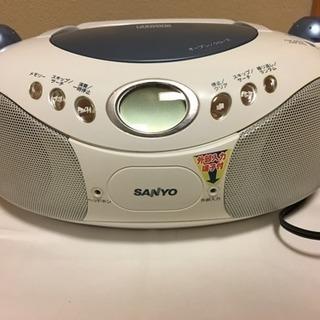 CDラジオ(SANYO製)