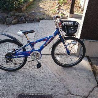 ジュニア用22インチ自転車です