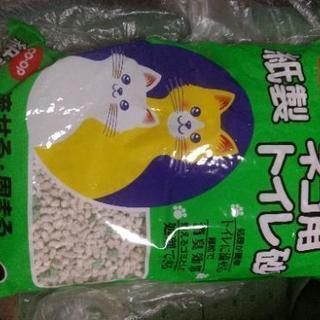 紙製ネコ用トイレ砂6l