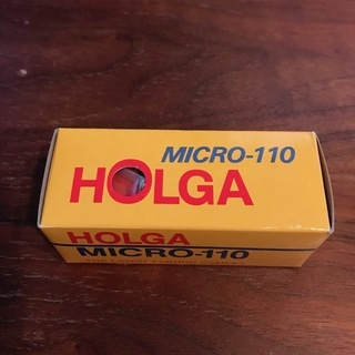 HOLGA micro 110 レッド フィルム無し HOLGA...