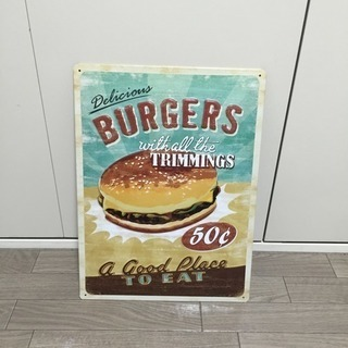 ☆値下げ☆壁掛け ハンバーガー 美品