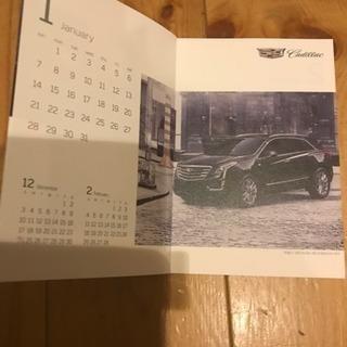 キャデラック2018卓上カレンダー&キャデラックブック