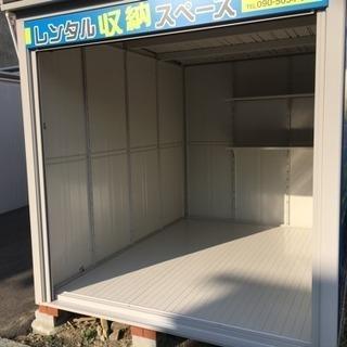値下げしました!【レンタル収納スペース】(約4畳・バイクコンテナ・...