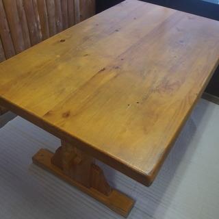 4人掛け 木製テーブル