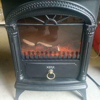 美品ユーパ  TK-BLT1200 電気式暖炉 EUPA 温風フ...