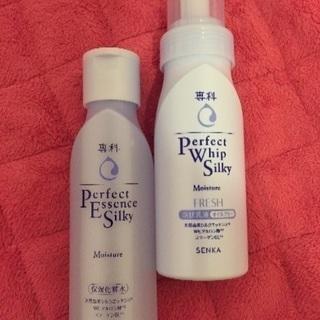 新品★資生堂 専科化粧水&泡乳液セット