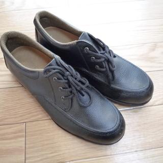 【中古美品】ミドリ安全 安全靴 緑安全 黒 24.0 24cm