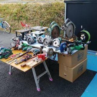 大工道具。DYI道具。整備工具。庭で使う物。の、中古販売始めまし...