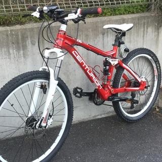マウンテン自転車超美品です