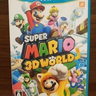 【ネット決済・配送可】スーパーマリオ 3Dワールド WiiU