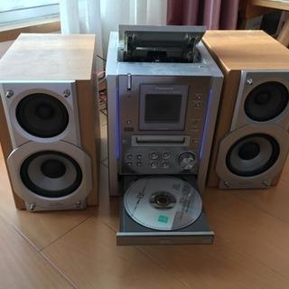 パナソニック MD CD カセット コンポ
