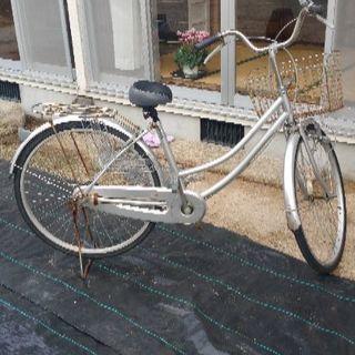 26インチ中古自転車 値下げ