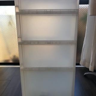 無印良品 ポリプロピレンストッカー 収納用品 - 家具