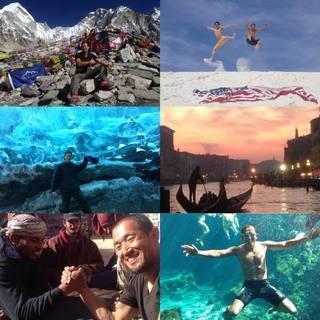 世界3周(ピースボートの船旅で北半球航路と南半球航路、バックパッ...
