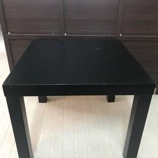 IKEA テーブル 黒