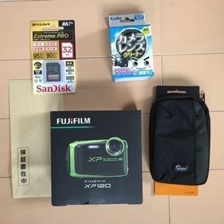 FUJIFILM FinePix XP120 グリーン[型番:F...