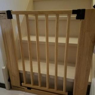 【お譲り終了】木製 ベビーゲート