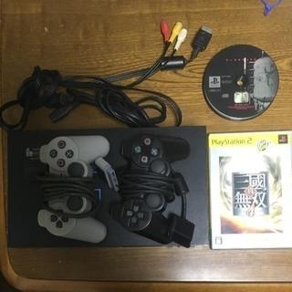 【値下】PS2 本体一式&ソフト13本セット