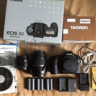 Canon eos 5D セット