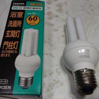東芝 電球形蛍光灯EFD13EN