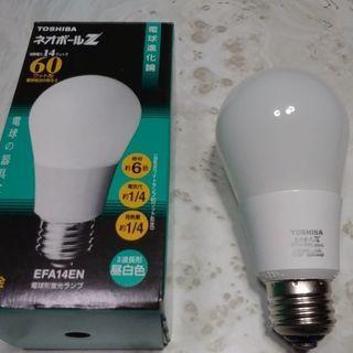 東芝 電球形蛍光灯EFA14EN