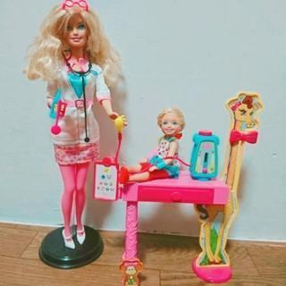 バービー人形/お医者さんごっこセット