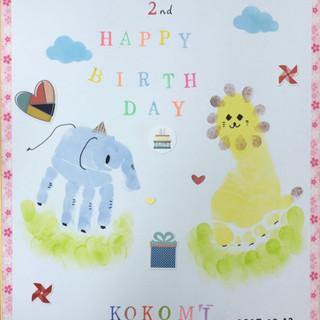 2月19日 手形×足型アートで赤ちゃんの成長を可愛く残そう♡