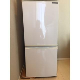 冷蔵庫 シャープ SJ-14R-W 137L 2ドア 2009年製
