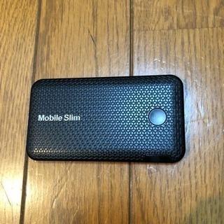 WiMAXモバイルルーター mobile  slim