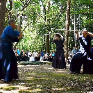 古武術教室(新陰流兵法・疋田流槍術)