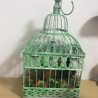アンティーク 鳥かご インテリア