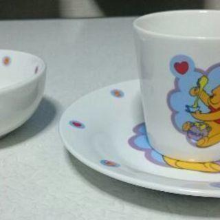 美品 ディズニー プーさんの食器セット