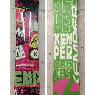 ♪Kemper スノーボード 155cm キズ多数♪