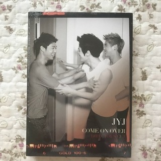 【新品/未開封/未使用】JYJ DVD COME ON OVER
