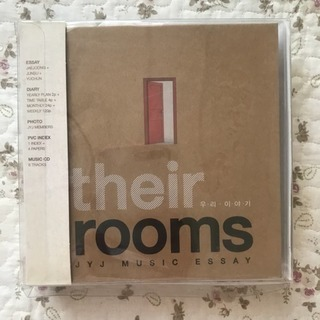JYJ DVD their rooms