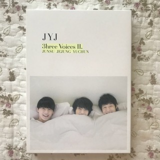 JYJ DVD 3hree voices Ⅱ