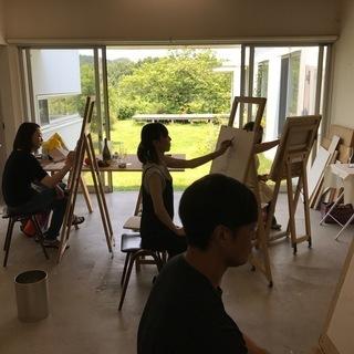 絵画教室、青木美術研究所、アトリエ日高