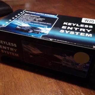 【未使用】キーレスエントリーキット 12V  アンサーバック機能...