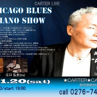 CHICAGO BLUES PIANO SHOW