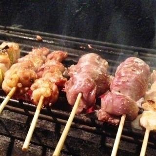六本木 焼鳥 料理「炭焼」をおぼえたい方 - 港区