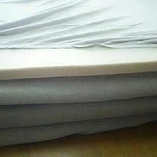 値下しました❗無印良品 低反発シングルマット+敷布団セットの画像