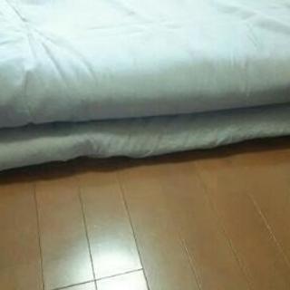 値下しました❗無印良品 低反発シングルマット+敷布団セット - 家具