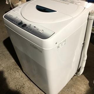 2014年製SHARP全自動洗濯機ES-FG45L- H