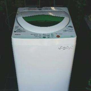 良品 TOSHIBA 洗濯機 5㎏ 2012年 AW-605