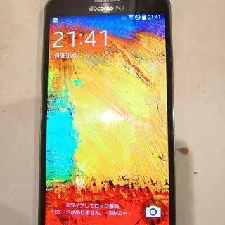 ★格安★Docomo GALAXY Note3 SC-01F/初...