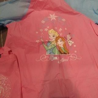【お買い上げありがとうございました】アナと雪の女王エルサのレインコート