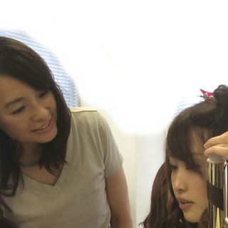 巻き髪レッスン理想の髪型になれる3回コース