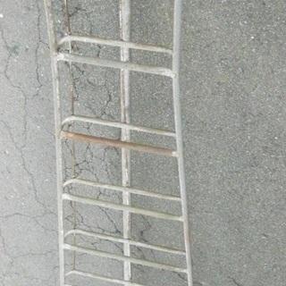 植木用 剪定用  鉄はしご  脚立 15尺前後 約4m