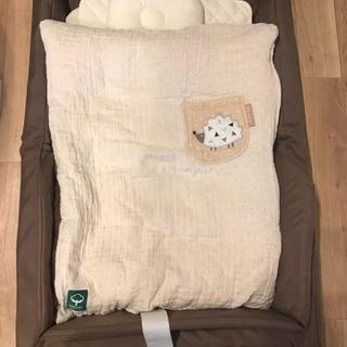 【美品】ファルスカ  コンパクト ベッド フィット オーガニック